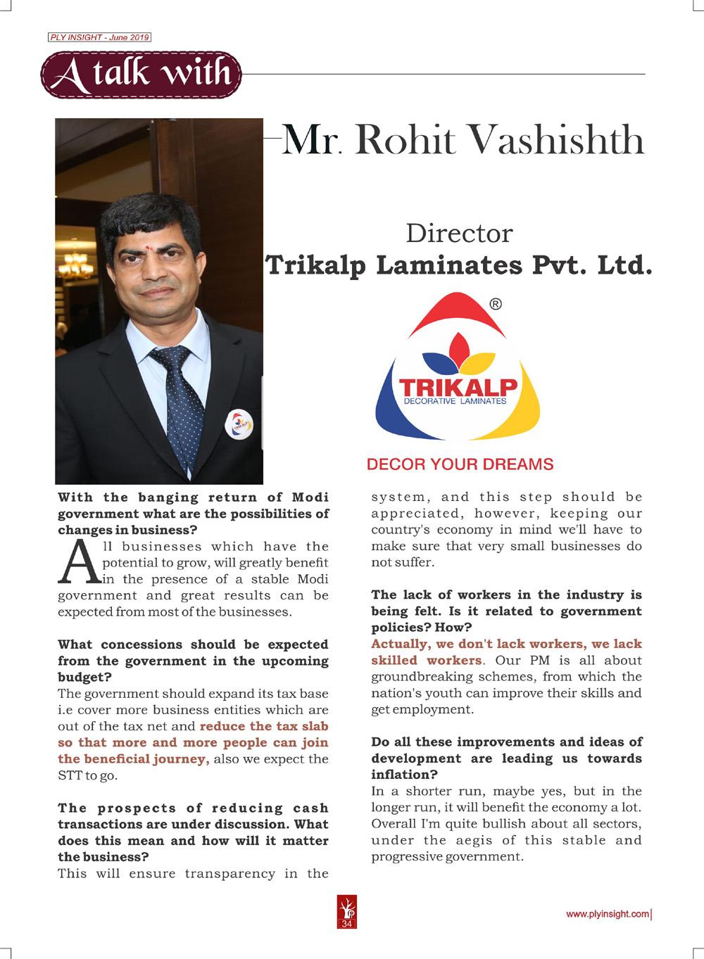 Mr. Rohit Vashishth